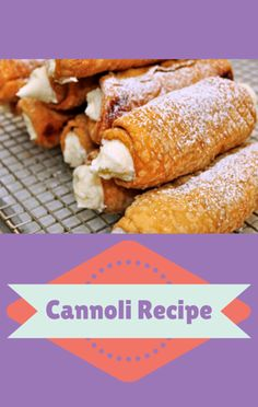 Buddy Valastro showed Rachael Ray how anyone can make a time-tested and beloved Classic Cannoli recipe in a home kitchen. Cake Boss Recipes, Best Dessert Recipes, Fun Desserts, Delicious Desserts, Yummy Food, Buddy Valastro, Eclairs, Food Network Recipes, Cooking Recipes