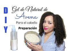 DIY Gel Natural de Avena para el Cabello (Preparación) / Homemade Natural Gel Made with Oatmeal - YouTube