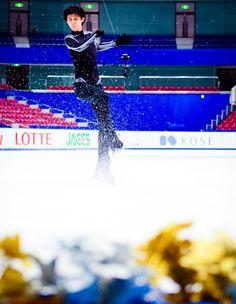 icedreamland | Yuzuru Hanyu || Practice session - GP NHK Trophy...