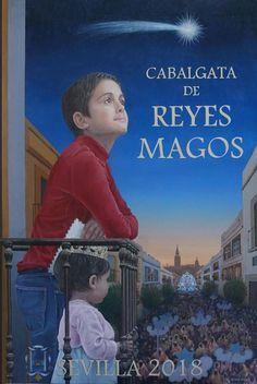 Cartel Cabalgata de Reyes Sevilla 2018