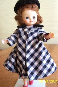Betsy McCall doll .... still have her .... the era before Barbie ... when my older sisters had dolls