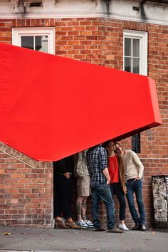 How to Turn a Busy Street Corner Into a Pop-Up Cinema