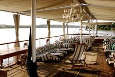 The deck of Nour El Nil
