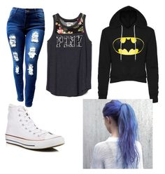 """""""Untitled #7"""" by melanie-armenta ❤ liked on Polyvore featuring Converse"""
