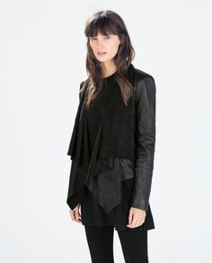 LEATHER JACKET - Woman - NEW THIS WEEK | ZARA United, How would you style this? http://keep.com/leather-jacket-woman-new-this-week-zara-united-by-simply_walnut_street/k/1o0EonABOd/