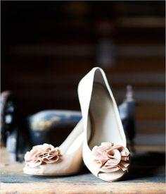 light pink wedding shoes 2015