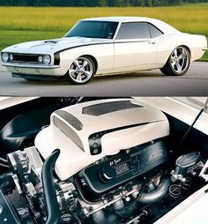 Awesome Camaro with 572ci package under the hood