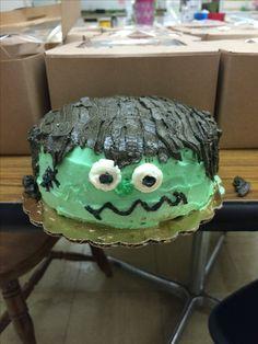 Frankenstein Cake