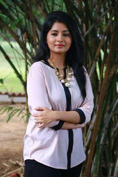 Indian Girls Villa: Reshmi Menon Stills At Kirumi Movie Press Meet