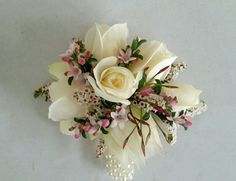 Charming little wrist corsage