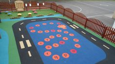 Rubber Safety Surface Flooring
