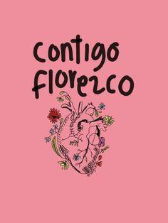 De tantas maneras.. Florece mi amor, florece mi odio, me florece la paciencia, me florece la idiotez, me florece la cara de ogt cuando me toca fumarme a la gente pelotuda.