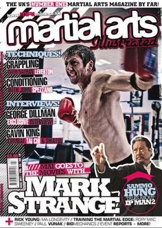Mark Strange Martial Arts Illustrated Magazine Front Cover