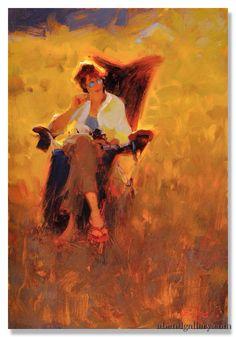 Abend Gallery Fine Art and Custom Framing Kim English, Artist Painting, Figure Painting, Painting & Drawing, Art Students League, English Artists, Illustrations, Figurative Art, Landscape Art