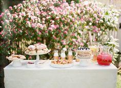 Beautiful brunch buffet