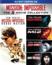 Mission: Impossible 5-Movie Collection [Blu-ray] [5 Discs] | @giftryapp