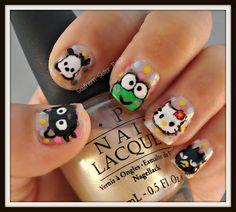 ♥ the chococat nail