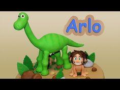 How to make Arlo (The Good Dinosaur)/ Cómo hacer a Arlo (Un Gran Dinosau...