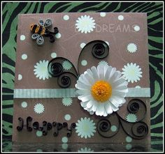 DAYDREAMS: quilled daisy TUTORIAL