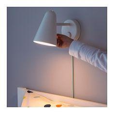 FUBBLA Wall lamp, white - - - IKEA