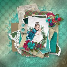 Layout using {One Winter Day} Digital Scrapbook Kit by Eudora Designs available at PBP   https://www.pickleberrypop.com/shop/manufacturers.php?manufacturerid=173