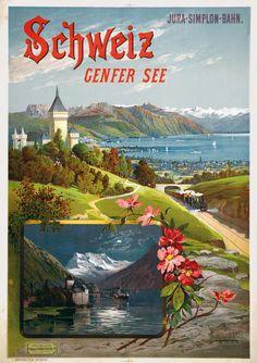 Genève Lac de Genève Hugo d'Alesi