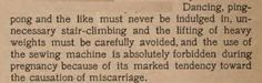 ~ Before the Baby Comes: A Pamphlet of Instruction and Advice for Prospective Mothers, by Joseph Brown Cooke. 1903 via Internet Archive.