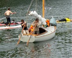 Kayaks, Rowing, Outdoor Furniture, Outdoor Decor, Boat, Ship, Marine Boat, Ships, Brittany