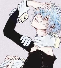 Boku No Hero Academia《One Shots》 - Shigaraki Tomura. Boku No Hero Academia, My Hero Academia Manga, Me Me Me Anime, Anime Guys, Manga Anime, Hero Academia Characters, Anime Characters, Anime Villians, Evil Anime