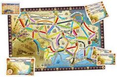Ukraine (fan expansion to Ticket to Ride) Ticket To Ride, The Expanse, Ukraine, Board Games, Maps, Tabletop Games, Blue Prints, Map, Cards