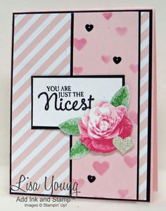 Hearts and a Rose by genesis - Cards and Paper Crafts at Splitcoaststampers