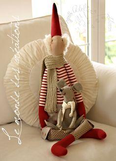 Christmas Elf Tilda.