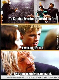 The Hunger Games, Hunger Games Humor, Divergent Hunger Games, Hunger Games Fandom, Hunger Games Catching Fire, Hunger Games Trilogy, Divergent Songs, Catching Fire Quotes, Image Triste