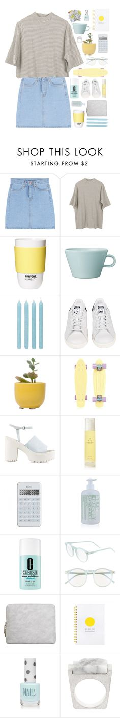 """""""Simplicity"""" by child-of-the-tropics ❤ liked on Polyvore featuring ROOM COPENHAGEN, Arabia, Pier 1 Imports, adidas, Dot & Bo, Nly Shoes, Aromatherapy Associates, Philip Kingsley, Clinique and Wildfox"""