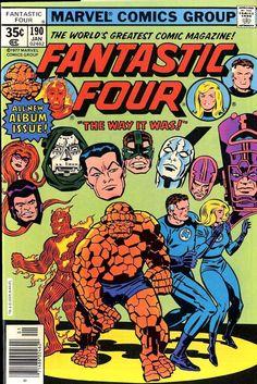 Fantastic Four 190 Marvel   The Way It Was!   #comics #marvel