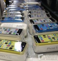 Leaked Photos Show Multi-Colored iPhone 5Cs
