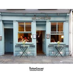 Mildred's Times   12noon - 11pm Monday to Saturday  45 Lexington Street, London , W1F 9AN 020 7494 1634