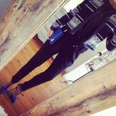 #look black & blue - etnic chic