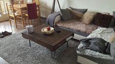 Table basse Wood vintage