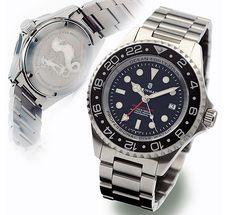 Steinhart OCEAN Forty-Four GMT BLACK Diver Watch