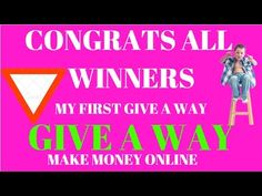 First Give Away By- Made 4 You!!!