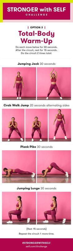 Full-Body Cardio Warm-Up