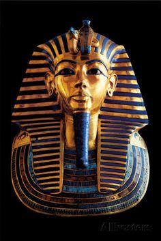 King Tut Tutankhamun Mummy Egyptian Art Poster I read somewhere it was really his Mother's deathmask. Egyptian Mythology, Ancient Egyptian Art, Ancient History, Art History, Old Egypt, Egypt Art, Mystery, Egyptian Mummies, Tattoo Ideas
