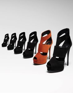 2117bf5cd667 Giuseppe Zanotti Fall Winter 2011-12 Orange Shoes