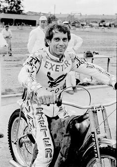 Ivan Mauger, retired motorcycle speedway rider.  He won a record six World Championships, a feat only equalled by Tony Rickardsson of Sweden.