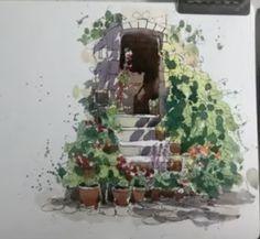 Watercolor Lettering, Floral Wreath, Wreaths, Painting, Home Decor, Art, Art Background, Floral Crown, Decoration Home