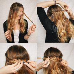 20 Idées de coiffures faciles et rapides pour les matins où vous n'avez pas le temps ! - loolbook