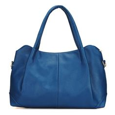 Sale 29% (23.55$) - New Pure Color PU Simple Large Capacity Women Handbag Shoulder Bag