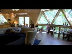 This is the coolest home I have seen in a very long time.  A Green home with a lot of space.
