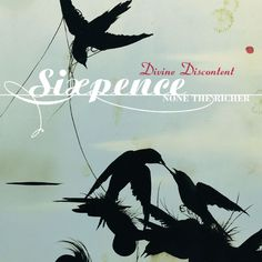 Sixpence None the Richer - Divine Discontent album cover, art by Darren Waterston